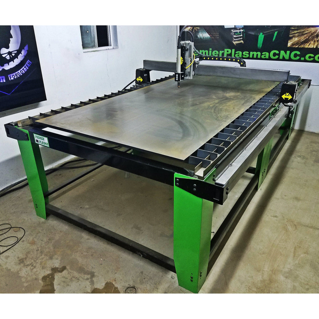 Premier Plasma Cnc Flat Top 5x10 Table W Floating Head