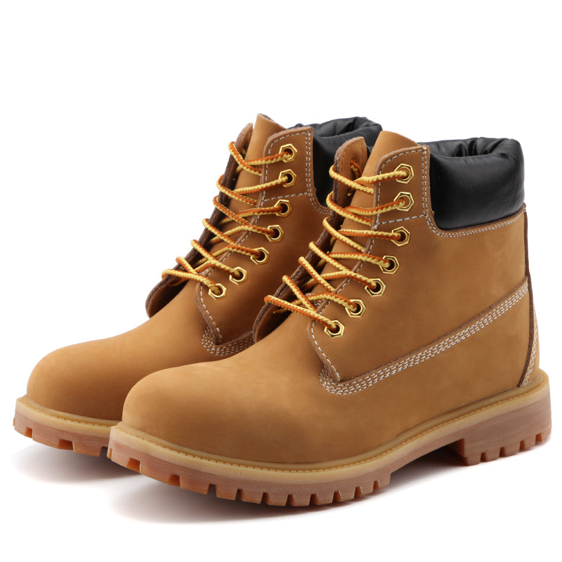 d014c947119a1 Plus Size Genuine Leather Lace up Men s Hiking Boots – westmk