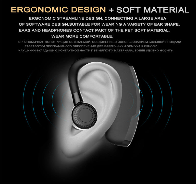 Handsfree Business Noise Cancelling Bluetooth Headphone 7