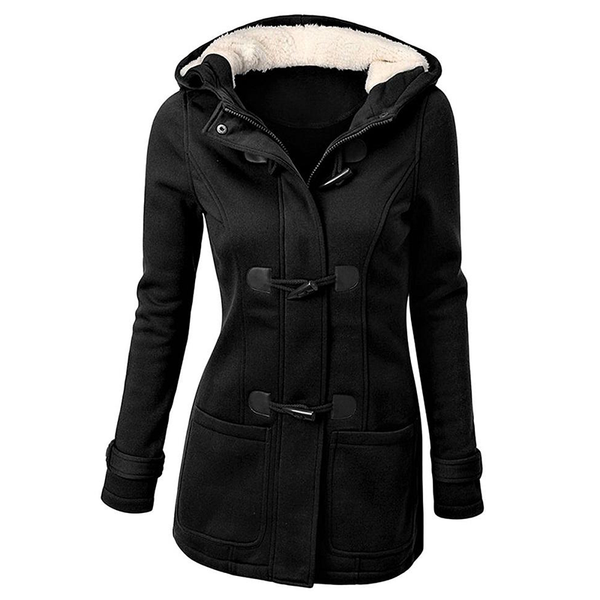 Plus Size Classic Gothic Hooded Coat