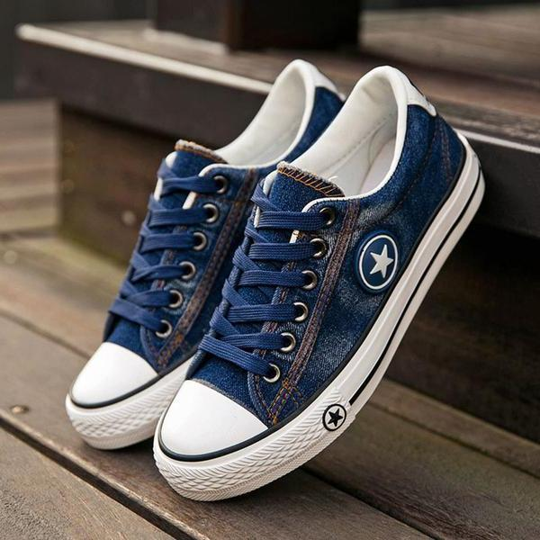 Fashion Women Casual Canvas Shoes
