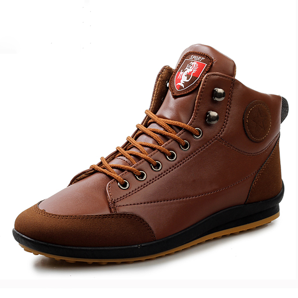 High Top Men Casual  Breathable Driving Shoes