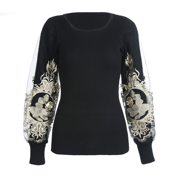 Autumn Lantern Long Sleeve Women Jumpers Slim Sweaters