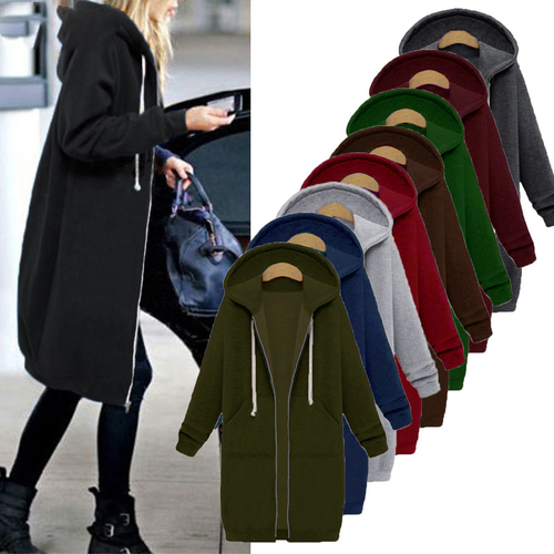 Oversized Autumn Women Casual Long Hoodies