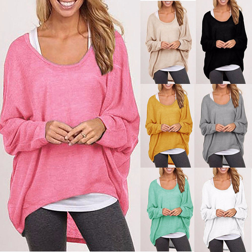 Women  Jumper Long Sleeve Casual Loose Sweater