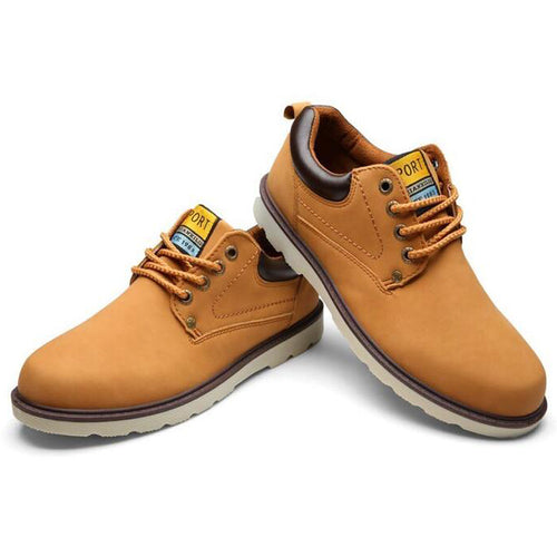 Fashion Flat With Pu Leather Man Shoes