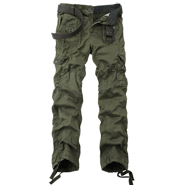 New Color Drawstring Plus Size Men's Cargo Pants