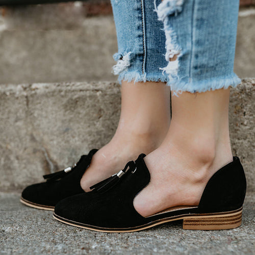 Women's Tassel Suede Casual Shoes