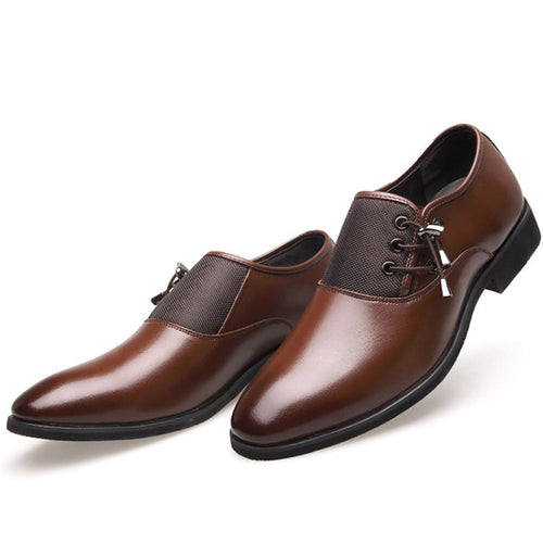 Luxury Brand Genuine Leather Men Shoes