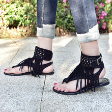 Sexy Tassel Fashion Gladiator Comfortable Ladies Sandals