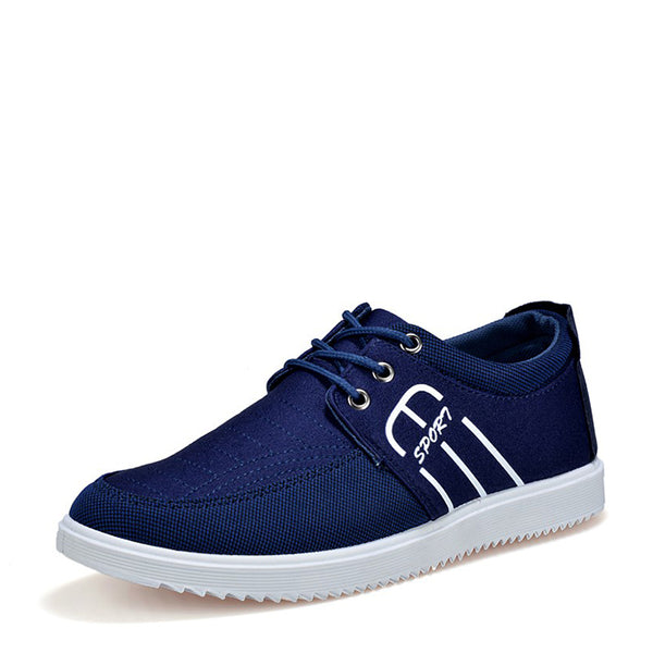 Fashion Breathable Men's Canvas Shoes