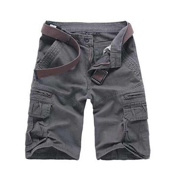 Men Casual Camouflage Loose Cargo pants   Multi-pocket Military Pants
