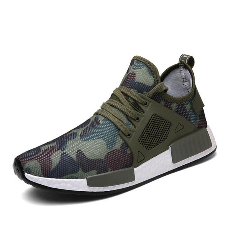 2017 Summer Military Camouflage Men Casual Shoes