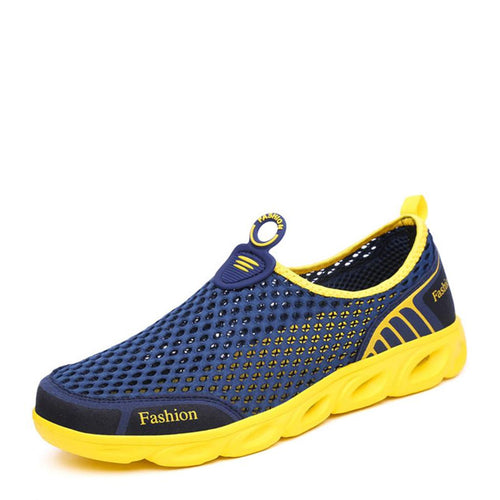2017 Summer Fashion Breathable Slip On Mesh Shoes