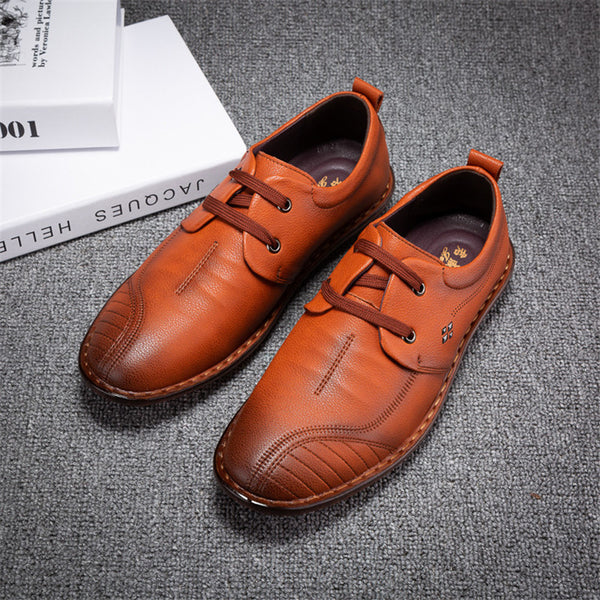 Wear Resistant Business Bull Tendon Bottom Men'a Casual Shoes