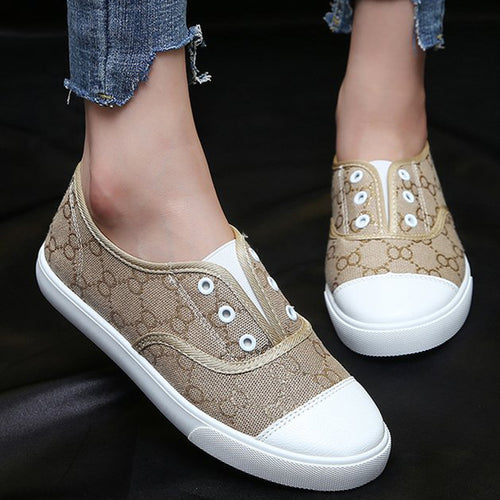 Casual Round Toe Slip On Weave Flat Loafers