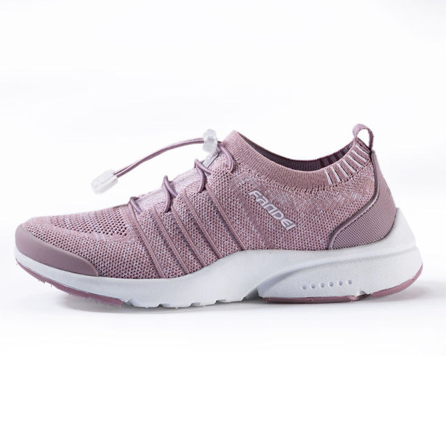 Women s mesh flat running shoes – westmk c2f285767