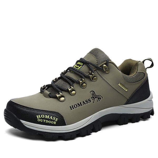 Unisex Waterproof Breathable Climbing Camping Hiking Shoes