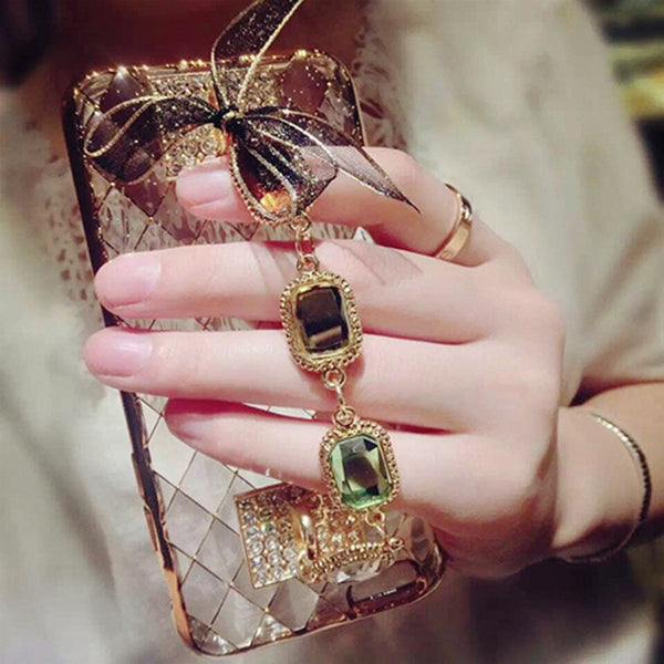 Luxury Bling Chain iPhone Case