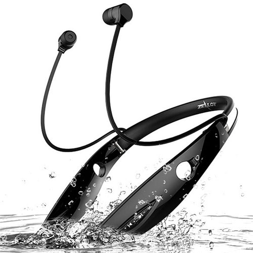 Neckband Stereo Hand Free Sports Earphones With Mic