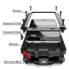 Luxury Rugged Armor Shockproof Metal Aluminum Case For Samsung