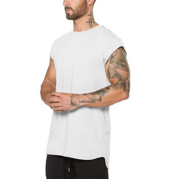 Fitness T-shirt Men Fashion  Summer
