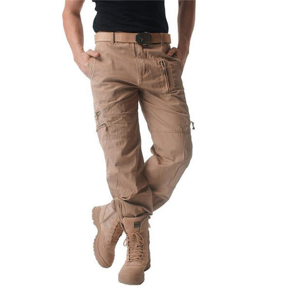 Military Breathable Multi-Pocket Casual Pants