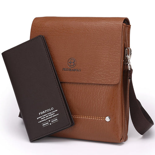 Leisure Satchel Business Envelope Bag+Wallet