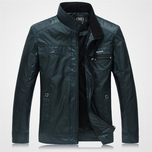 New Fashion Men's Business Casual Zipper Jacket