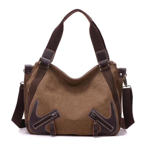 High Quality Canvas Women's Shoulder Bag