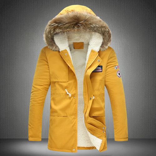 New Men Winter Thick Warm Coats
