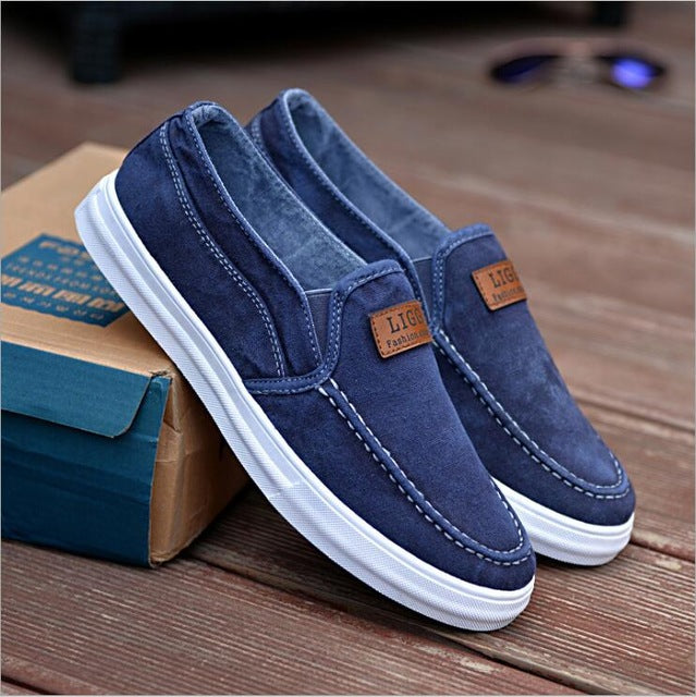 2018 New Arrival Brand Men's Casual Canvas Shoes