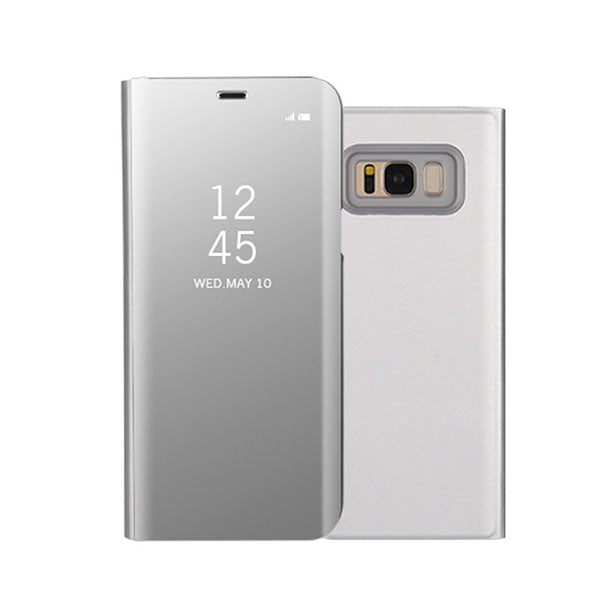 size 40 f0381 3f61d Luxury Intelligent Mirror Flip Clear View Smart Case For Samsung Note 8 S8  S8+ S7 S6/Edge