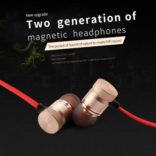 Sports Headphones Bluetooth 4.1 In-ear Headset