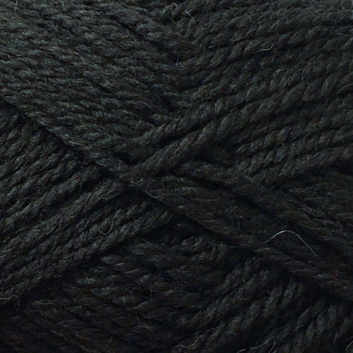 Woolly Rainbow 8ply Machine Wash 15 Charcoal