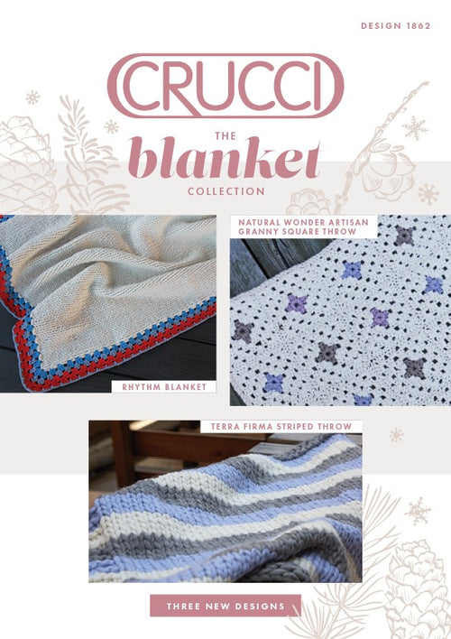 Crucci Knitting Pattern 1862 The Blanket Collection - Digital