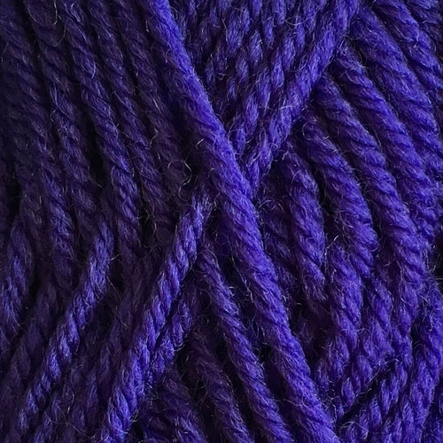 Crucci Merino Wool 8ply 10 Hot Purple