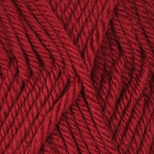 Crucci Merino Wool 8ply 11 Hot Red