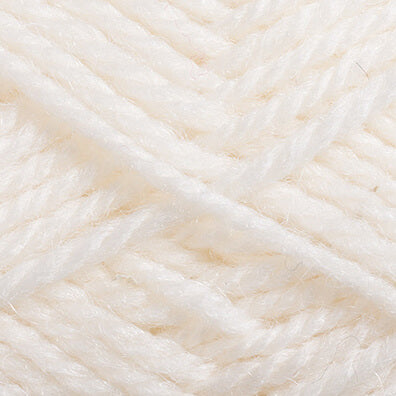 Crucci 8ply Soft M/Wash Pure Wool 150 White