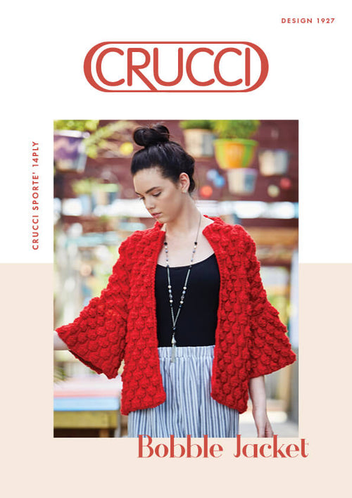 Crucci Pattern 1927 Bobble Jacket
