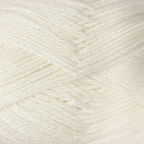 Crucci 4ply Pure NZ Wool Soft 1 White