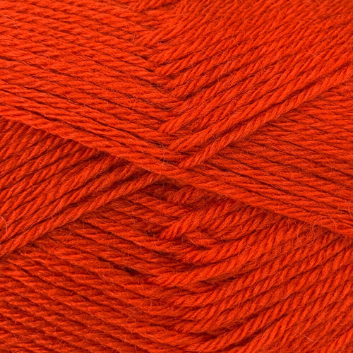 Crucci 4ply Pure NZ Wool Soft 6 Rust