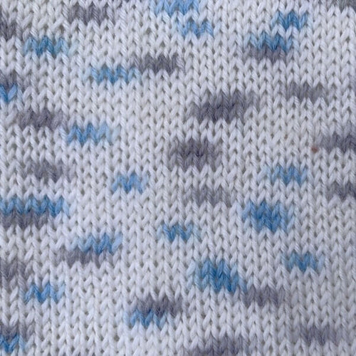 Woolly Jack and Jill 4ply 152 White Blue