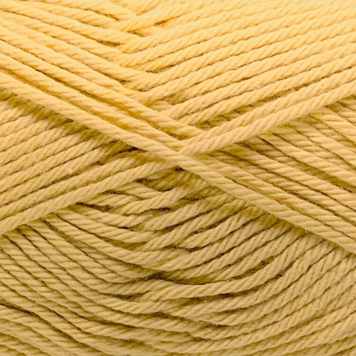 Crucci Pure Cotton 8ply 107 Mustard