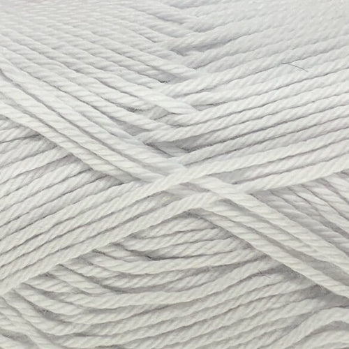 Crucci Pure Cotton 8ply 101 White