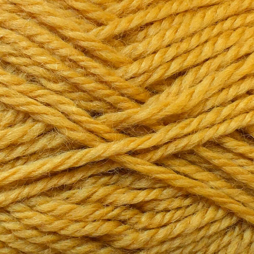 Woolly 12ply Pure Wool Machine Wash 9 Mustard