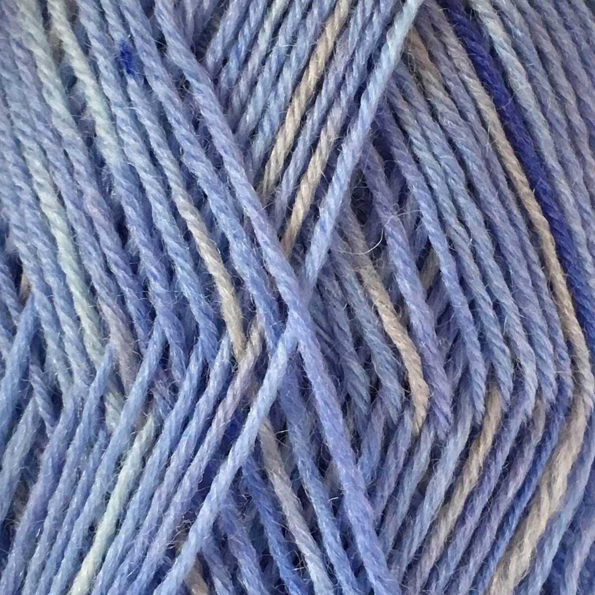 Woolly Jack and Jill 4ply Wool 148 Blue Grey