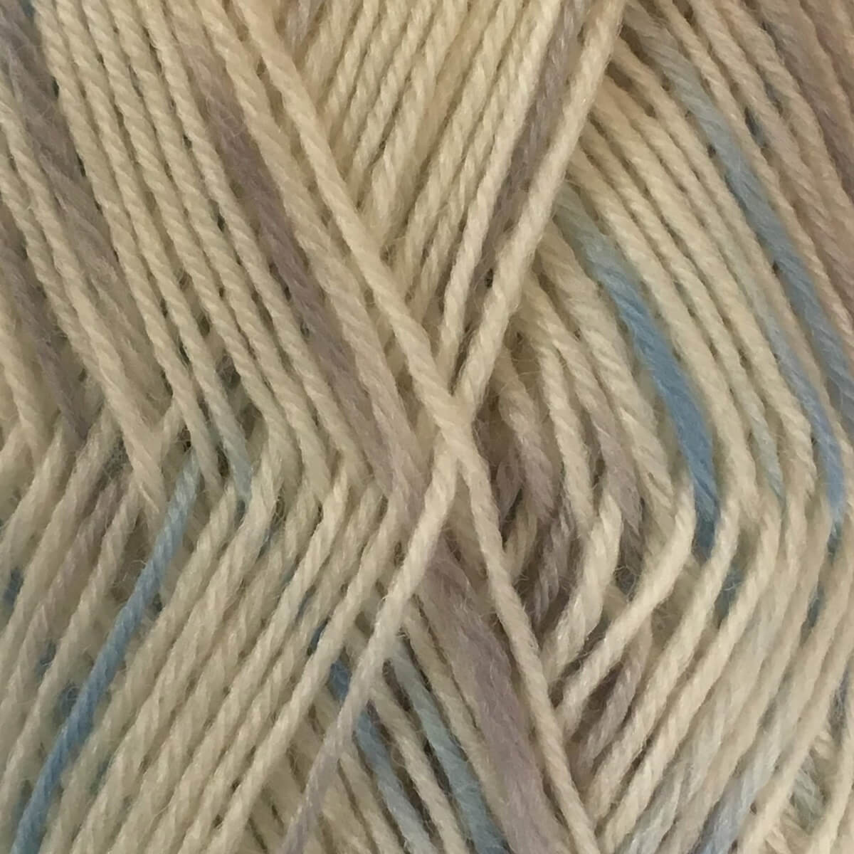Woolly Jack and Jill 4ply Wool 152 White Blue
