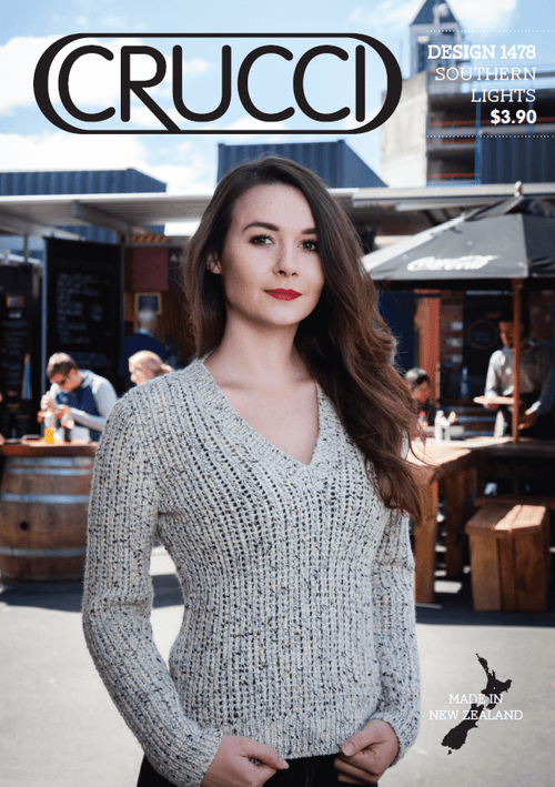 Crucci Knitting Pattern 1478
