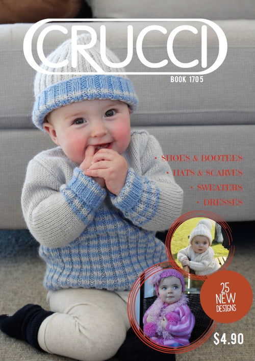 Knitting Pattern Books Fashion Babies Home Crucci Magic